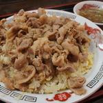 ラーメン大将 - 料理写真:10番セットの肉チャー