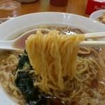 中華 芝苑 - 麺