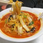 北京 - 北京式チャンポン麺(辛味)850円。