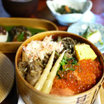 田季野 - 料理写真:よくばり輪箱飯 2100円