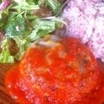 ホズク - ランチ チーズのトマトソース