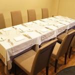 OGINO Red&Green Restaurant - 【2011/7】地下の個室♥