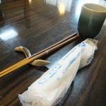 銀座大和田 - 鰻の箸置き