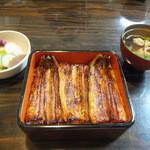 銀座大和田 - 鰻重 特上 普通盛り