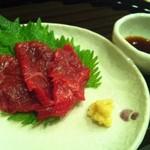 12981647 - 鯨肉のお刺身