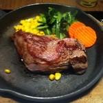お肉だヨ!全員集合 バクテキ - ワイルドな肉150g 640円