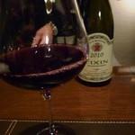 シェ・モリタ - 「軽めの赤」を。美味しいワインでしたね。