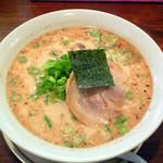 十五代目哲麺 - 青ネギ醤油ラーメン \600