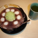 竹よし - 抹茶白玉あずき 750円