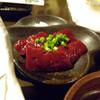 きばらし亭 - 料理写真:近江牛生レバ