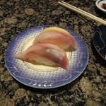 がってん寿司 - ほっけ握り189円、美味なり