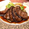サルーンバー ムルソー - 料理写真:黒毛和牛の網焼き ¥2800~