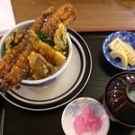まいづる茶屋 - (名物)穴子天丼