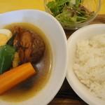 ママロ - スープカレーAセット(1280円)