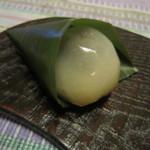 翁屋 - 梅入り葛菓子¥180