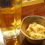 佐海屋旭 - 2010.12 最初はビール