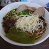 麺家 とん平 - 料理写真:黒とんこつらーめん(熊本風)マー油入り700円♪