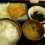 13040700 - コロッケ定食500円