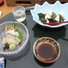 懐石 櫻 - 料理写真:お造りと辛子豆腐