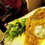 ハンモックベースカフェ - チキンティッカマサラカレー
