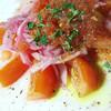 Oval - 料理写真:スペイン風フレッシュトマトサラダ