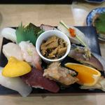 鮨・あつ賀 - 焼き魚を取り除くと