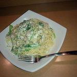 スワハウス - 小松菜のカルボナーラ