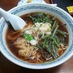 玉福 - 山菜ラーメン