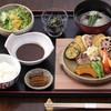 柿千 - 料理写真:駝鳥ハンバーグ。おすすめです。