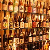 50種類以上の銘柄焼酎も飲めるプレミアム飲み放題大人気です!