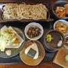 そば仙人 - 料理写真:そば屋の定食(二八)