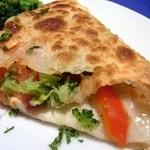 アロヒディン - ギョズレメ(野菜とチーズ)