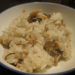 舞桜 - 釜炊きのあさりご飯