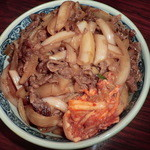 もうもう亭 - ランチの大盛りカルビ丼