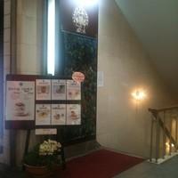 朝日珈琲サロン - 胡町通り交差点の南西角 大内ビルの階段を地下へ・・・
