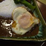 お食事処花茶碗 - ハート形の卵