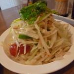 リトル スパイス - パパイヤのサラダ(ソムタム)