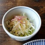 daisy - ランチセットのサラダ