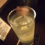 ダブリン - アイリッシュパブ&レストラン ダブリンのラムトニック600円(11.11)