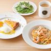 ヴィレッジカフェ - 料理写真:極太リングイネセット(生パスタ使用)【スイーツ付】