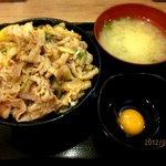 伝説のすた丼屋 - ミニすた丼!(2012,05/27)