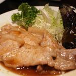 旬房 街道 青葉 - 蔵王ポークの生姜焼き定食