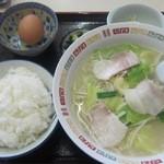 大鵬軒 - 料理写真:ちゃんぽん定食