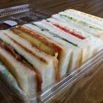 かえでどう - サンドイッチ弁当