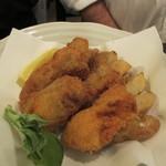 麦酒庵 - 牡蠣フライ