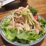 にっぽんの洋食 津つ井 - チキンサラダ