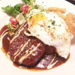 atari CAFE&DINING - ロコモコ900円