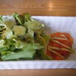卵's工房 - レディースセットのサラダ