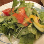 銀座 SESTO - 本日のパスタセット(1000円)のサラダ