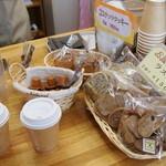 スペースあい - 自家焙煎のコーヒーは粉、豆、ドリップパックがります
